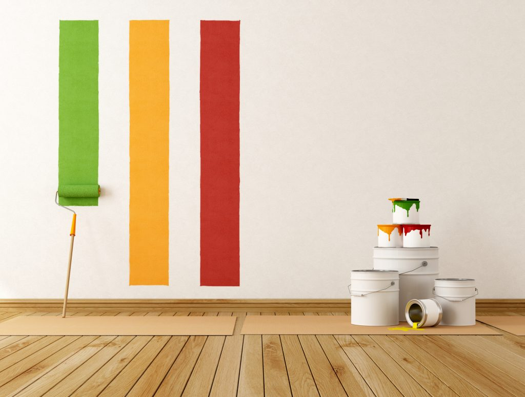 paint your homes exterior